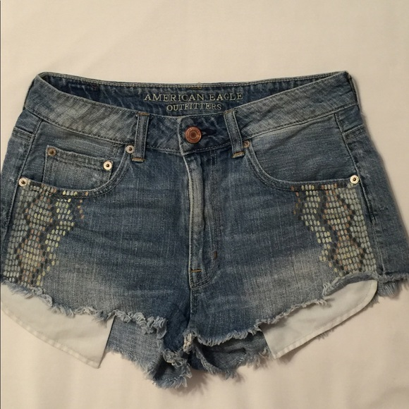 American Eagle Outfitters Pants - American Eagle Outfitters Faded Shorts